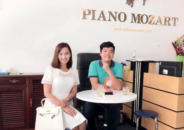 Diễn Thanh Huyền tại PianoMozart