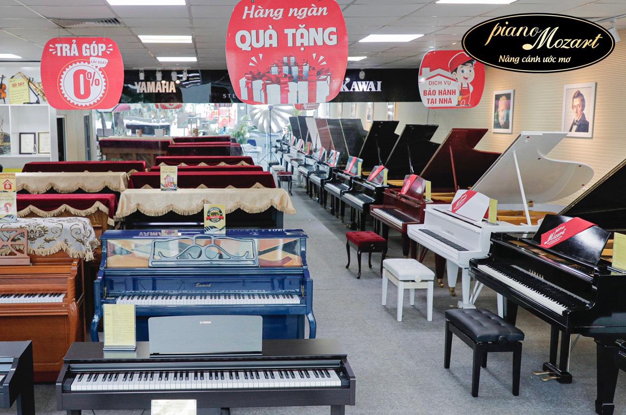 showroom đàn piano