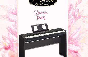 Cây đàn piano điện phong cách Yamaha P45