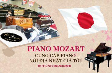 Piano Mozart – Showroom piano chính hãng Nhật Bản lớn nhất miền Bắc